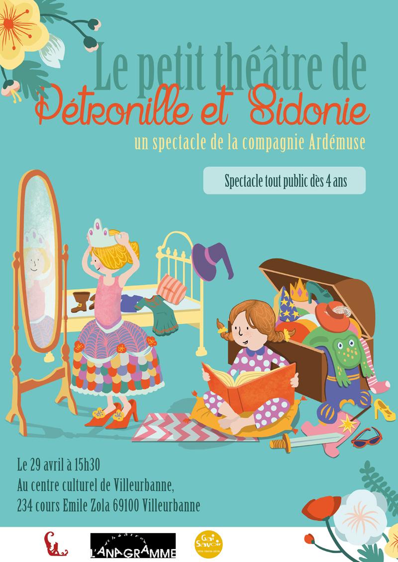 petit theatre julie ramel